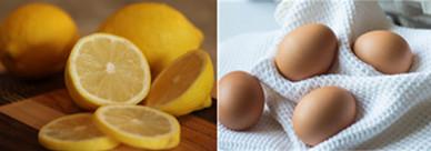 蛋殼和檸檬皮是很好的天然漂白劑,煮熱水的時候加一點檸檬皮或者雞蛋皮,跟衣服一起煮,煮完後洗乾淨,不僅可以漂白,而且完全不用擔心像超市裡賣的漂白劑那樣腐蝕到衣服。