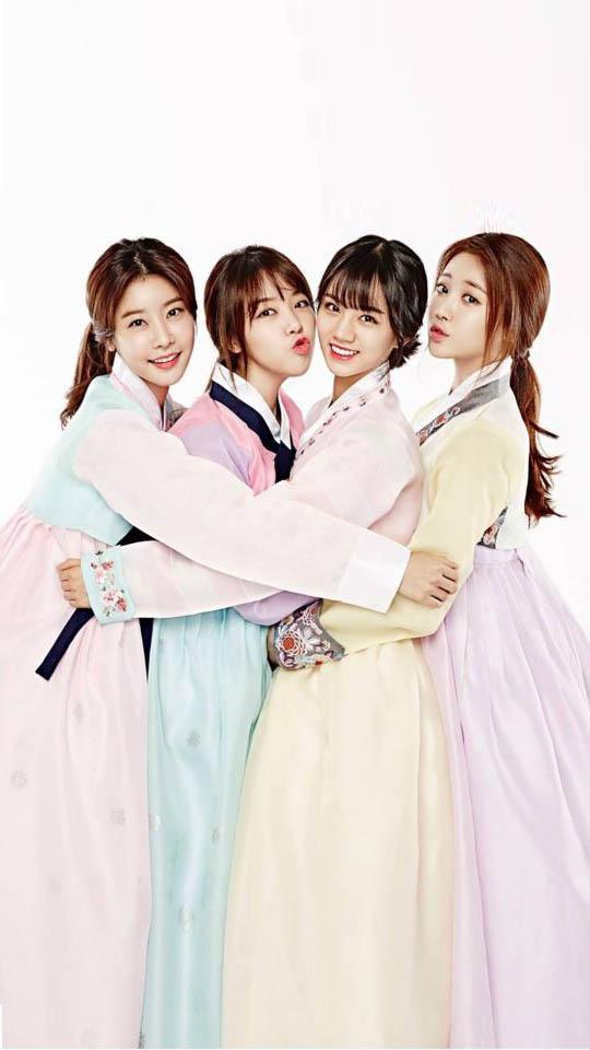 可愛的Girl's day韓服版…不管是性感打歌服還是88年復古風,甚至是韓服都能征服的黑利~