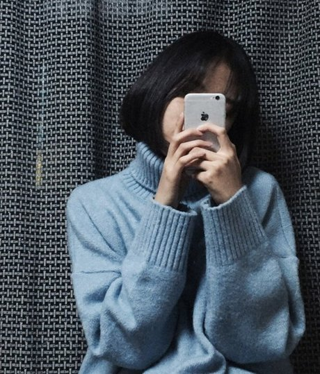 一樣是冬天不能少的高領毛衣~ 韓妞短髮也超適合高領毛衣! <來自StyleShare用戶:sta4001的風格>