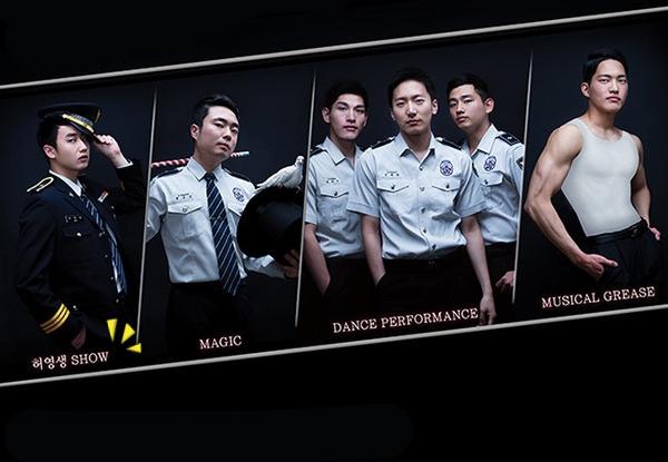 在這個團隊裡面的確有藝人也有音樂劇演員,所以不僅很多帥哥,也各個多才多藝。