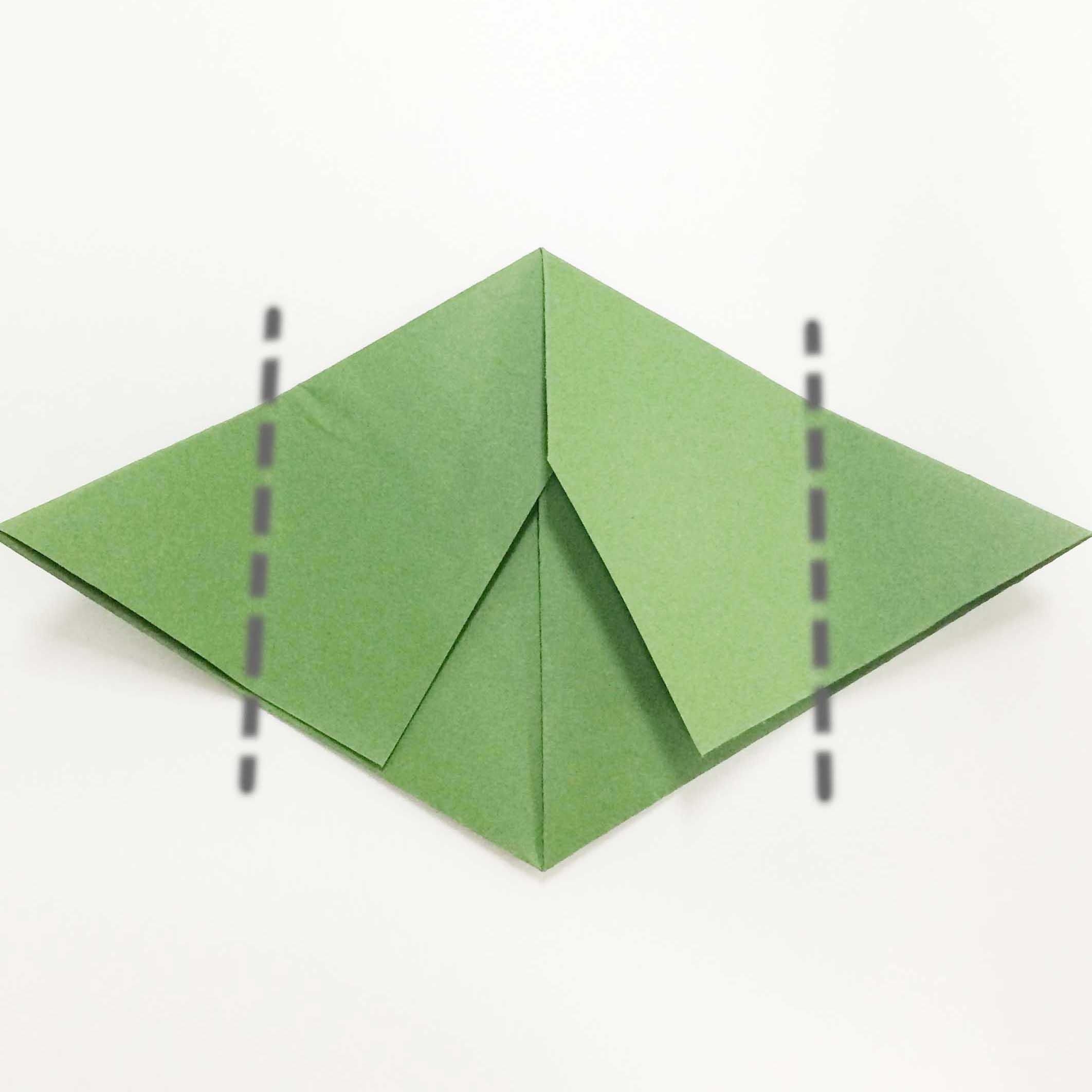 11. 對應中線對折一半(沿虛線折疊)