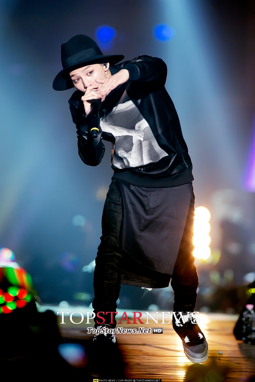 正是G-Dragon權志龍,沒有錯!