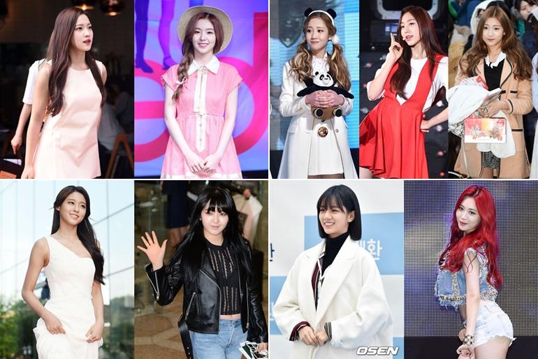 還有4組女團成員也有被點名,只是韓國網友沒有給太多評價~ ►Red Velvet Yeri、Irene ►Lovelyz 智愛、智秀、叡仁 ►AOA 雪炫、澯美 ►Girl's Day 惠利、Yura