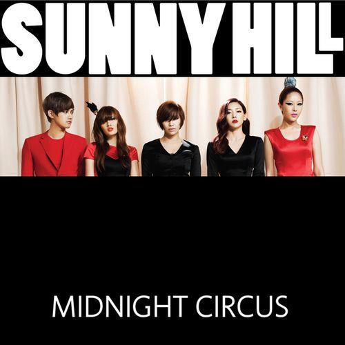 接下來要看到當時還是4女1男的SunnyHill在2011年的作品《Midnight Circus》