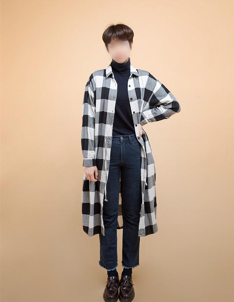 2.長款襯衣