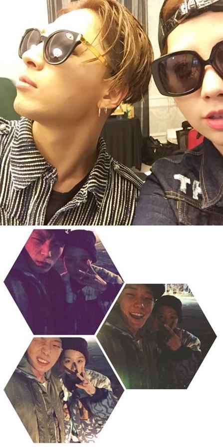 而且像其他藝人也很經常出現在Mina Kwon的instagram上啊~~
