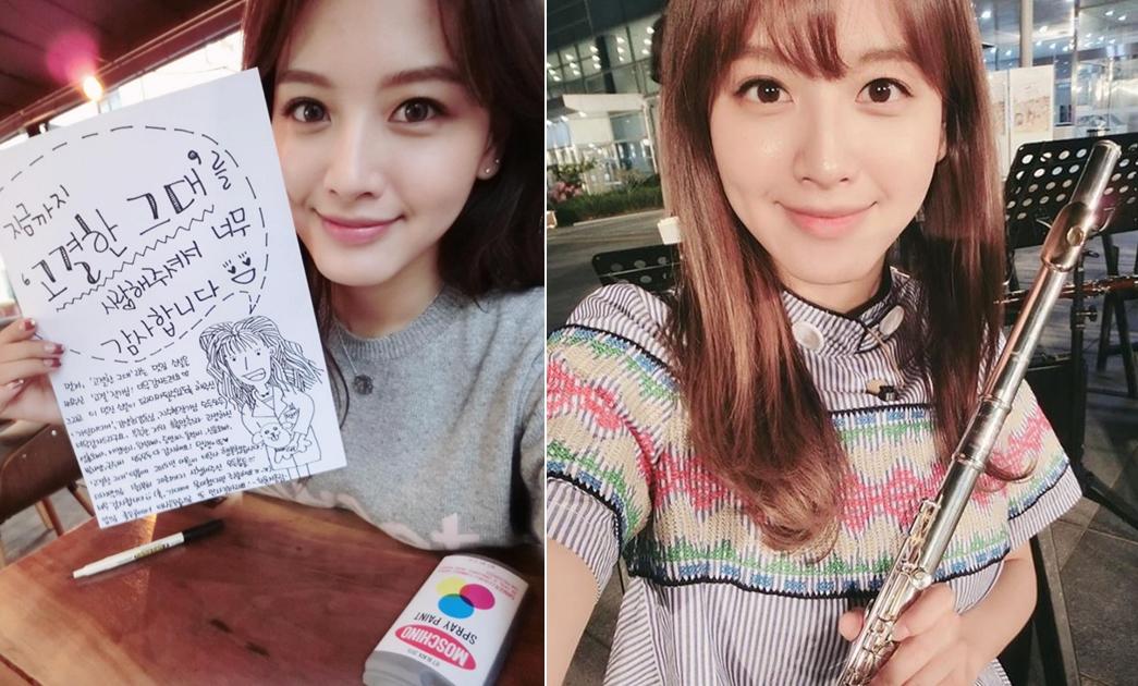 韓國網友還稱她為「無所不能的最強萬能女偶像」!不僅在繪畫素描方面很有才能,也精通平面設計、長笛、自製美容護膚品、甜品、廚藝、縫紉、美甲等等
