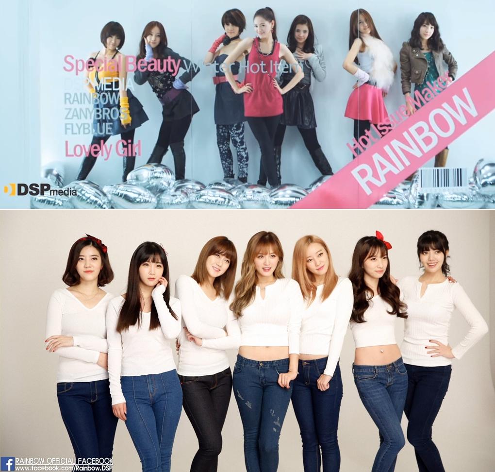 ►Rainbow 出道日期:2009年11月14日 出道作品:《Gossip Girl》