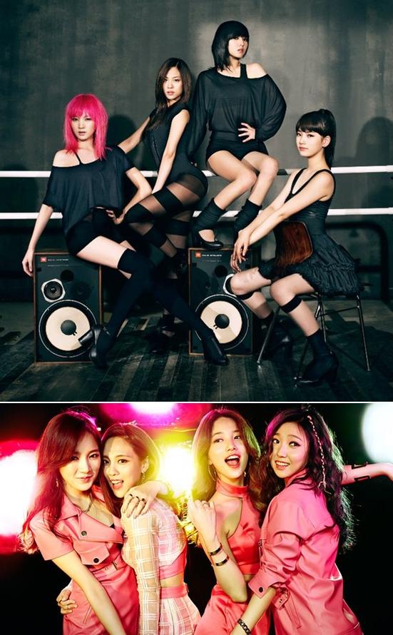►miss A 出道日期:2010年7月1日 出道作品:《Bad Girl Good Girl》 2016年Jia與JYP娛樂的合約到期並離開而退出miss A