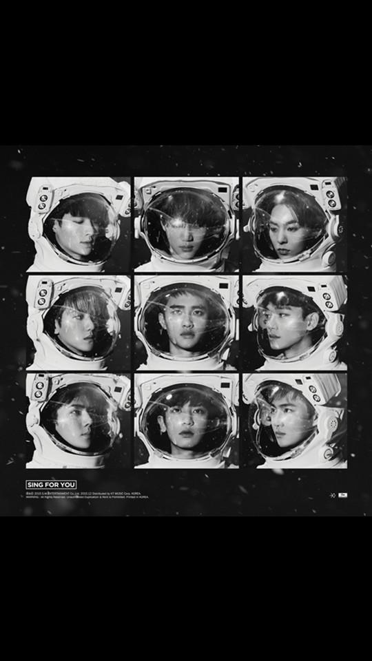 最後當然就是去年包辦了各項專輯大獎的EXO啦!