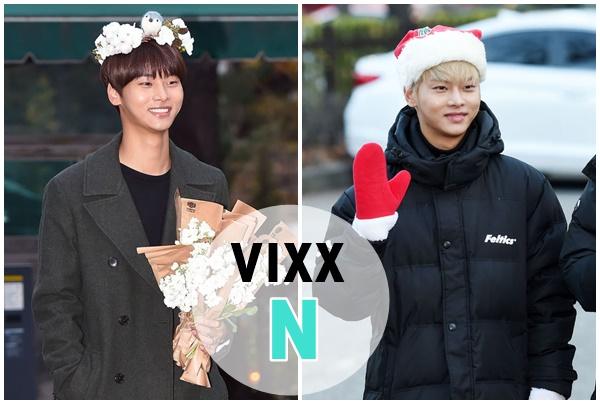 VIXX「엔」  VIXX隊長車學沇,長得跟跟頭上花環的小鳥兒一樣,太討喜啦!