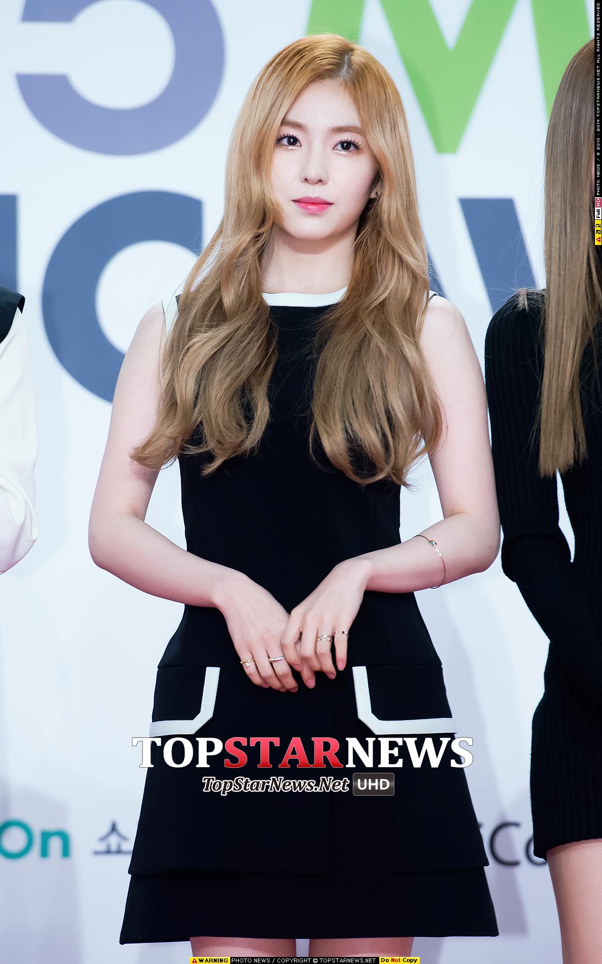 沒錯~就是Irene啦!韓國網友說Irene看起來像是有165的身高