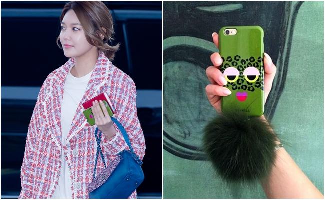 也不知道是不是因為Tiffany的關係,連潤娥和秀英都買了同一款手機殼