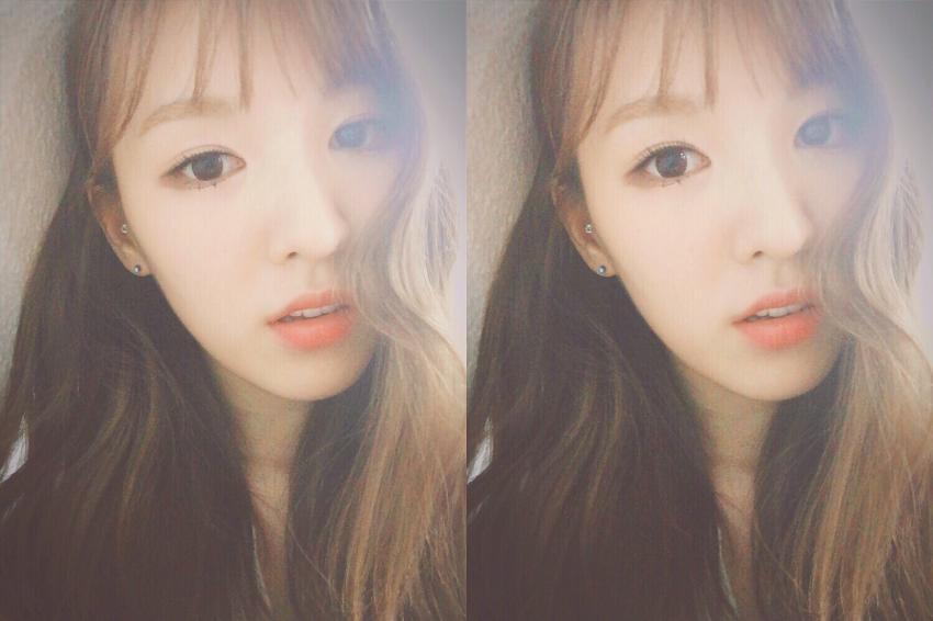 ►Red Velvet Wendy X Wendy 韓國網友說Wendy混血的輪廓很像彼得潘裡的溫蒂XD