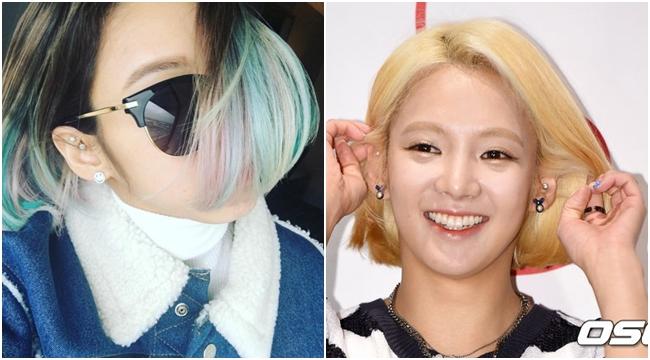 少女時代中不少成員都有穿耳洞,孝淵更是常常搭配穿搭更換耳環風格~