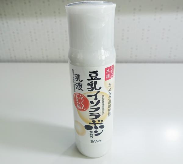 4. 豆乳化妝水&乳液 非常濃稠的質地,保濕潤澤,適合乾燥的冬季使用~