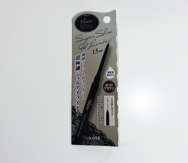 這支眼線筆聽說也是熱賣品~ 比一般的眼線筆還細,筆芯只有1.5mm喔