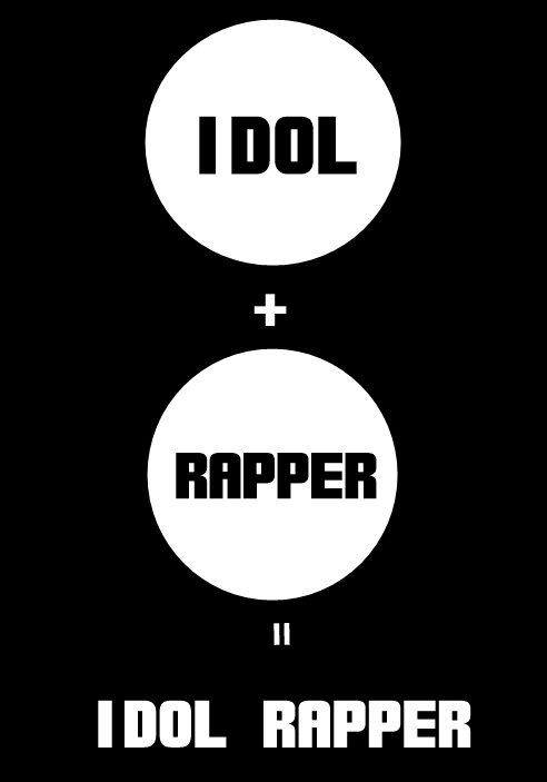 然而,若你是偶像又是隊裡的饒舌者 我們稱為IDOL RAPPER