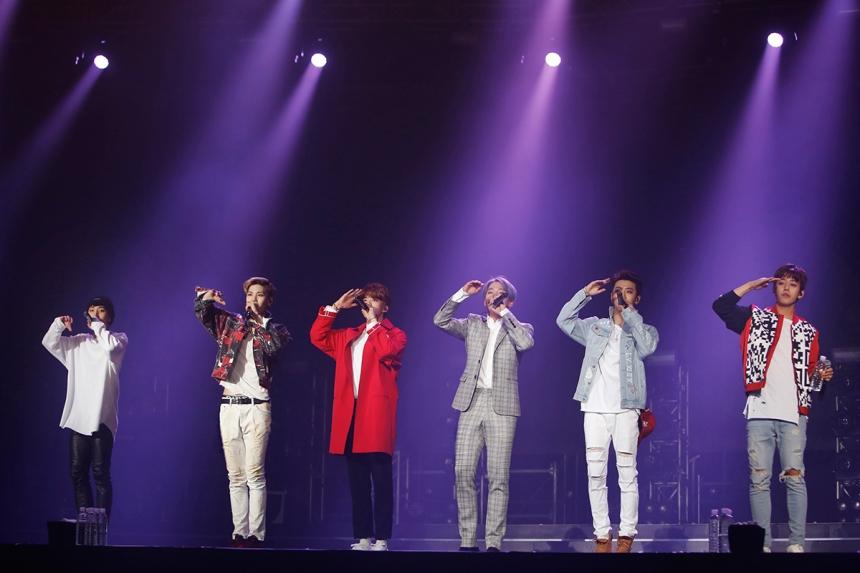 剛好! 真的就這剛好的兔子團B.A.P巡迴演唱會也在首爾啟航