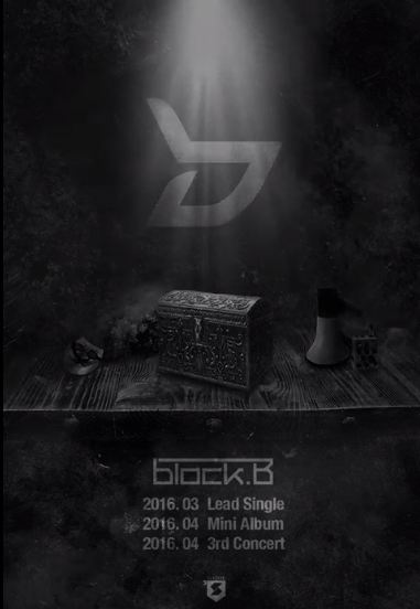 接下來小編要介紹的預計在3月回歸的歌手們... 將以完整體回歸的BlockB~\(´▽ `)ノ 預計3月推出先行曲