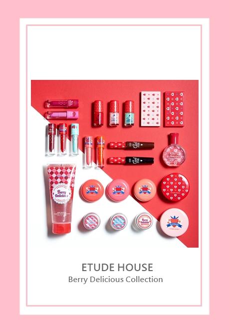 由代言人Krystal強力放送的短片中可以顯示,Etude House 春夏彩妝系列有著濃艷水果的豐富色調,整個莓果系列從眼妝到唇妝,都很受到女生喜愛,希望台灣可以趕快推出~