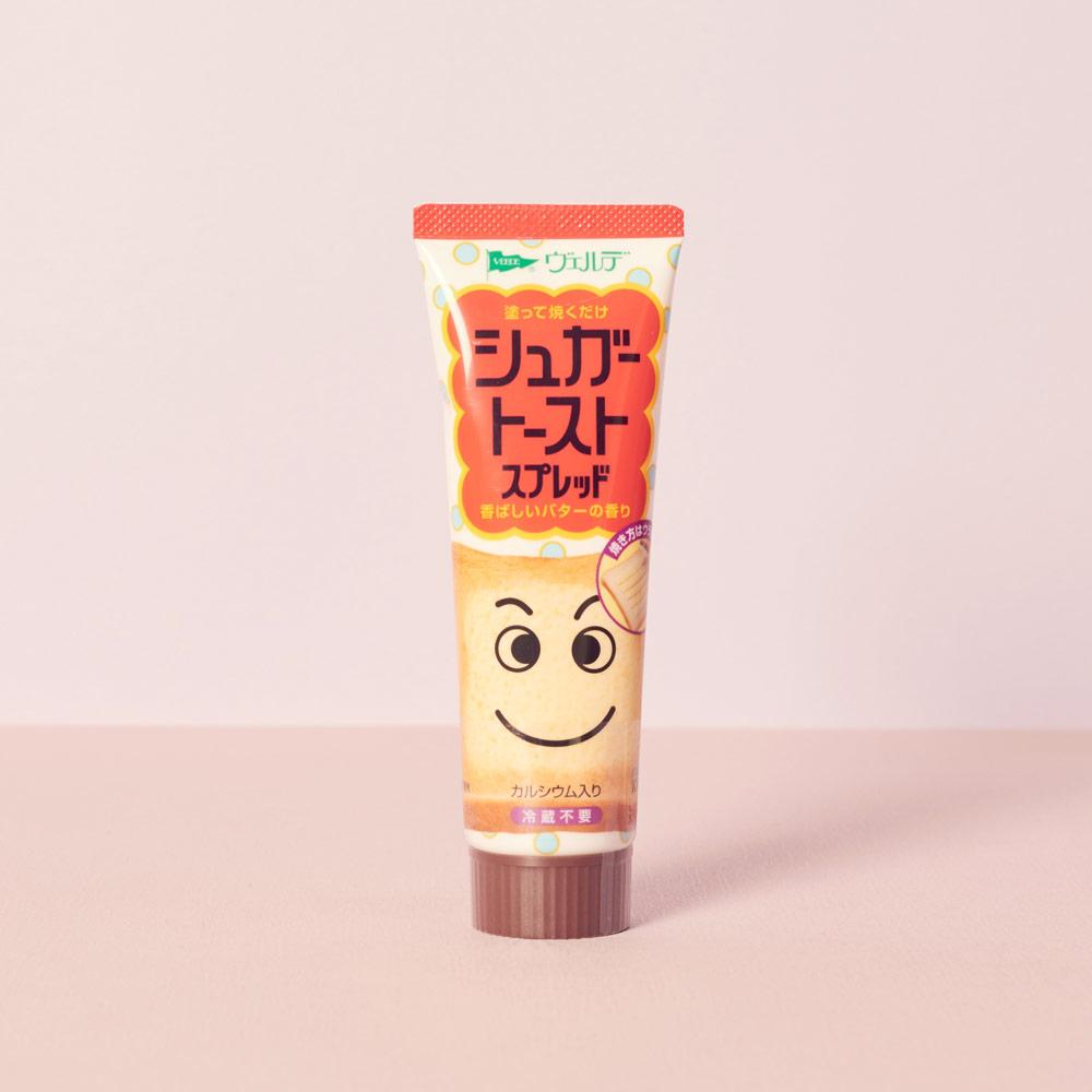 不是那麼喜歡蒜味的人也可以選擇同品牌推出的蜜糖吐司抹醬~