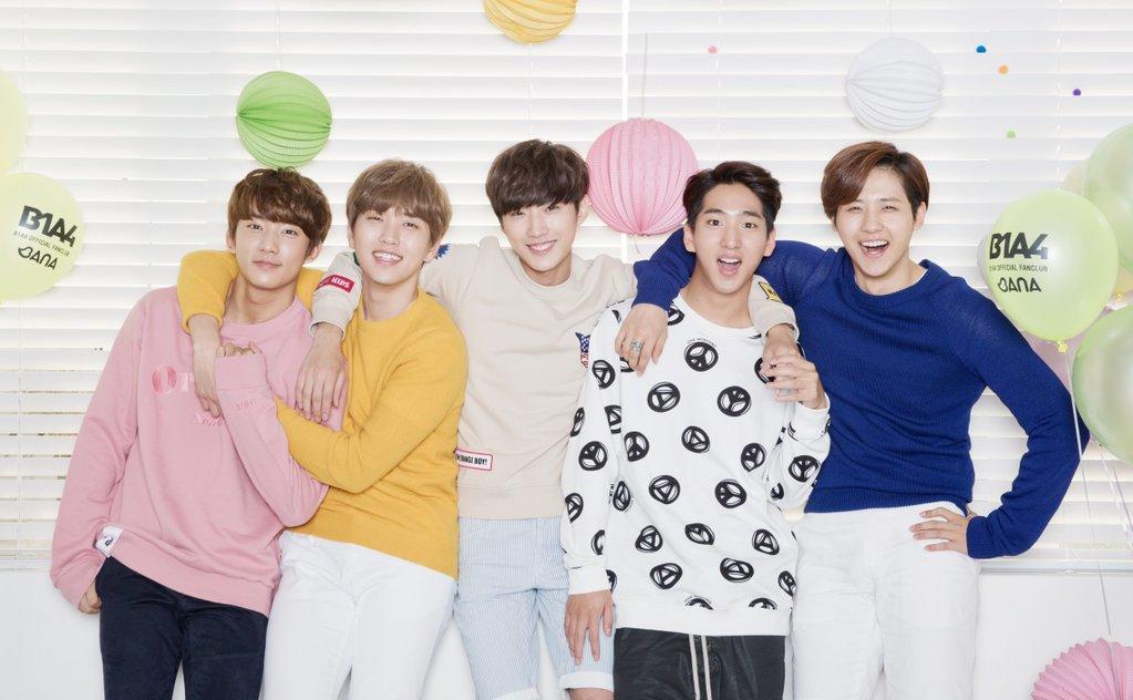 ♡ 創作男團 3 號 :: B1A4  B1A4 除了振永的創作實力有目共睹外,也可以常常看到其他成員的作品,出現在他們的專輯裡喔!