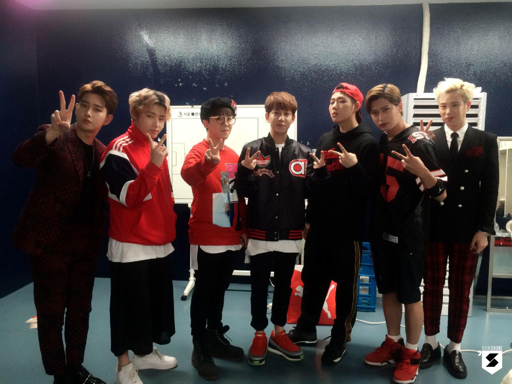 ♡ 創作男團 4 號 :: Block B  說到創作也不能不提他們,沒錯!就是 Block B!除了音源小霸王 Zico 外,其他的成員也是各個身懷絕技,所以他們的歌曲也非常有自己的特色。