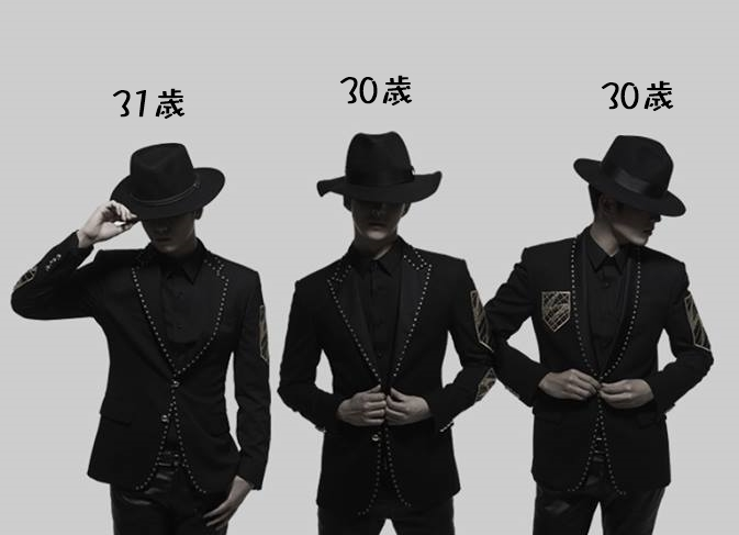 ● 提示一:平均年齡是 30.3 歲,總和是 91 歲。