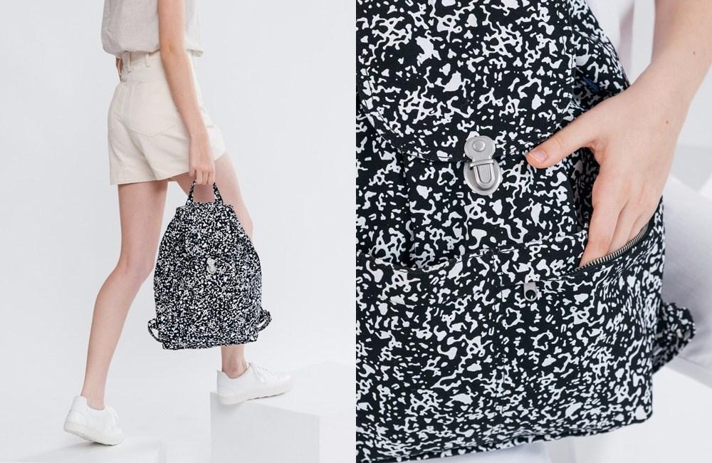 # 100%回收棉質帆布材質 # 休閒包款