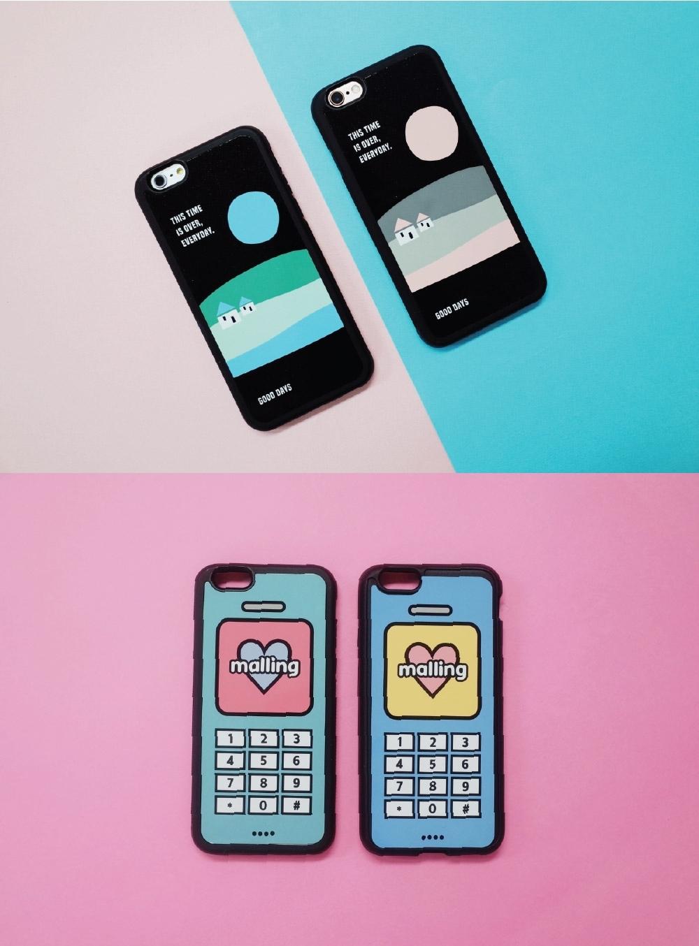 不論是與朋友一起擁有、或是和愛人一起使用,都不會太超過的可愛設計,每款幾乎都有做兩種不同的顏色!