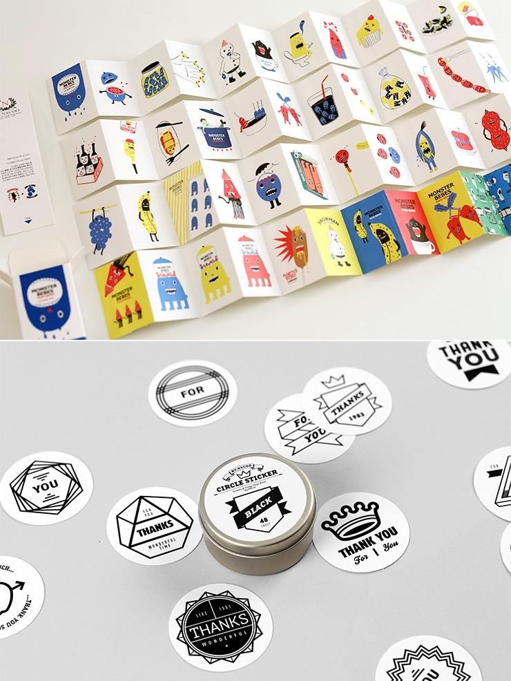 不過WHITE COTTON不只有手機殼,還有很多有趣的文具,像這個可愛的貼紙~