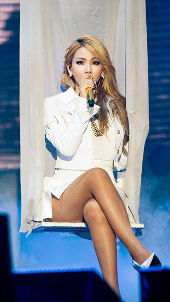 霸氣天后CL