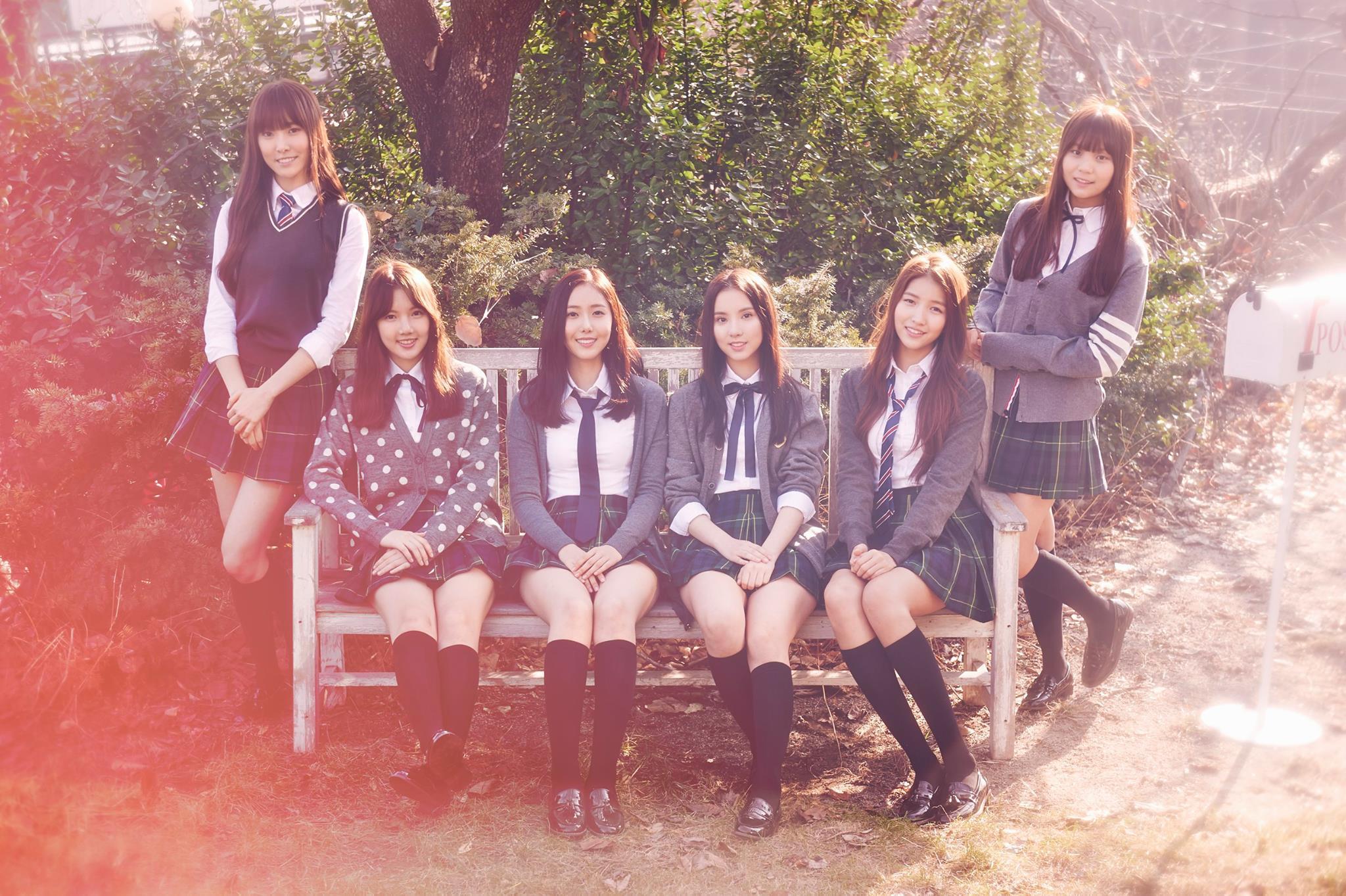 最近人氣直升的GFRIEND 韓文也是四個字여자친구