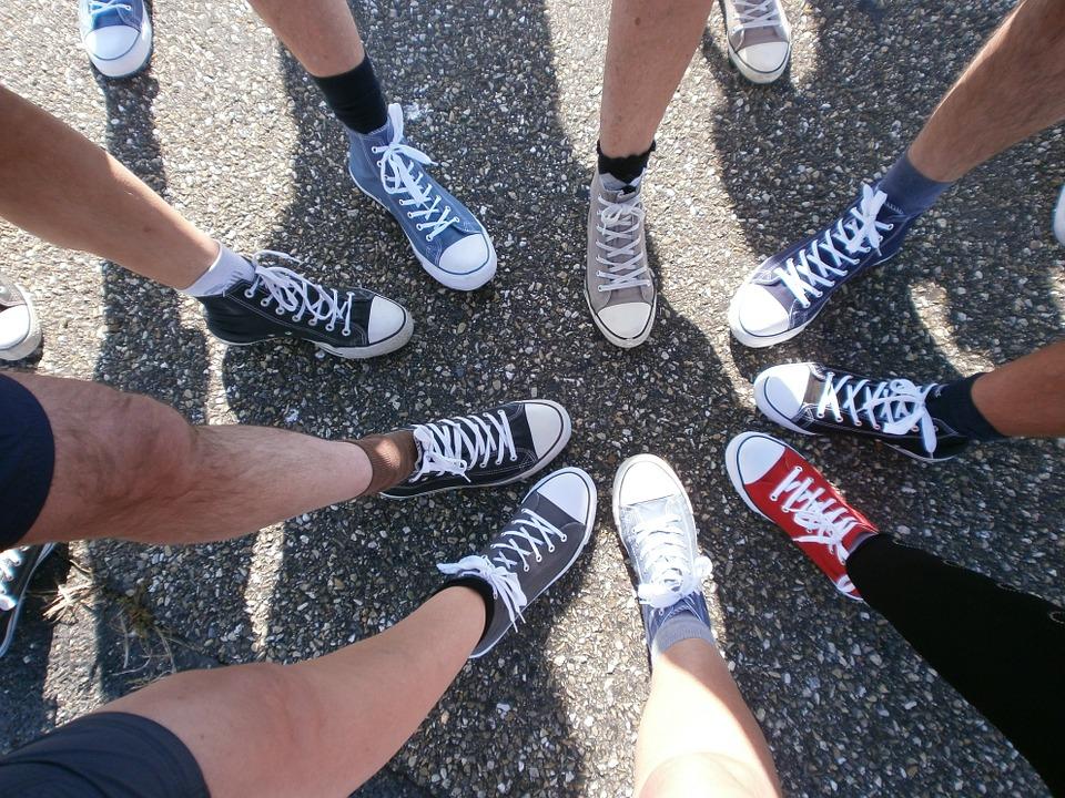 1. 穿和學生時代相同size的鞋子!