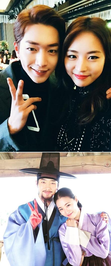 去年和車勝元、金載沅及徐康俊等帥氣男演員攜手出演《華政》,李沇熹穿上韓服的模樣也超美啊!
