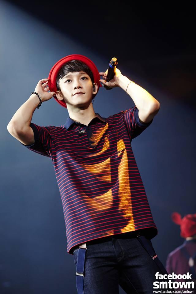 ♡ 甜蜜嗓音擁有者 4 號:EXO CHEN  第四位就是 EXO 的主唱 CHEN,每次演唱 OST 都獲得很好成績的他,也曾在《蒙面歌王》中展現讓人驚豔的歌唱技巧。