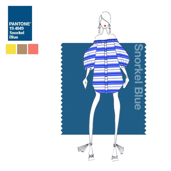 #4 深海藍 深海藍是許多人覺得最令人心安的穿搭色調,不管怎麼搭都很自然