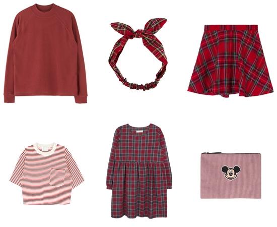 各式各樣的紅色單品,只要穿上就很搶眼!既然如此,擔心太過顯目的話,也可以選擇特殊設計的格紋、圓點等Pattern風格的單品!