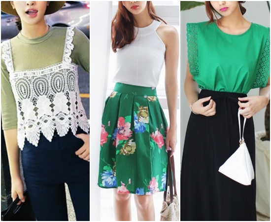 不過到了夏天這些顏色反而是最友善的穿搭色之一,不管配黑色、白色都能襯托出令人欣喜的夏季鮮豔感~