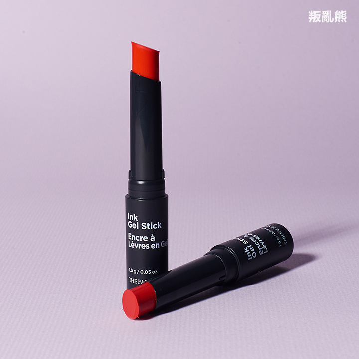 ▶ The Face Shop / Ink Gel Stick #OR01 Baby Orange, #RD02 Red Thing  (價格:KRW 12,900)