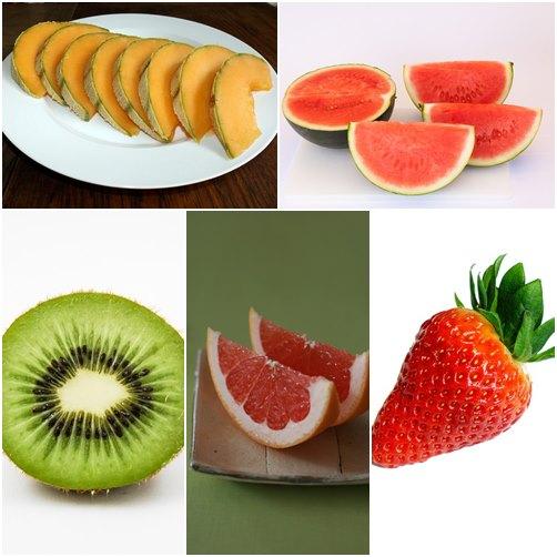 如果你比較怕熱,體溫通常都比一般人高的話,屬於溫熱性體質的你,就可以選擇奇異果、西瓜、哈密瓜、草莓和葡萄柚等寒性水果。