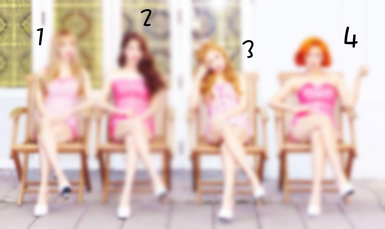 ● 提示一:這次是四個人的女團!