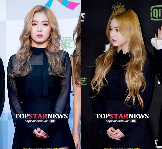 也有人說,他的背影更像Irene 長髮飄逸的樣子應該更接近Irene才對