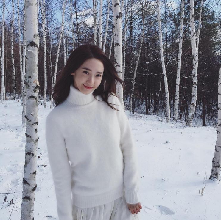 清晰的外貌、甜美的笑容,真的跟 Innisfree 的形象很符合。