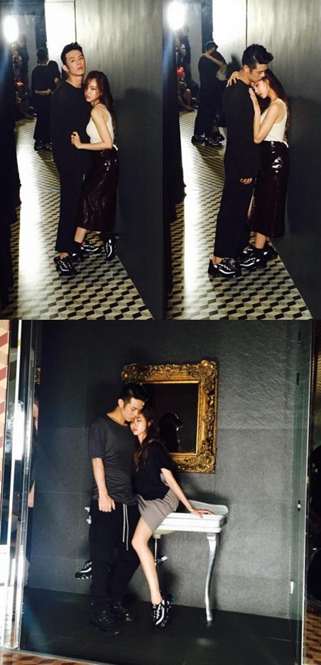 還和超帥氣饒舌男歌手Beenzino有如此的近距離接觸( ♥д♥) 雖然女粉絲很羨慕黃承言,但男粉絲也都超忌妒Beenzino的啊XD