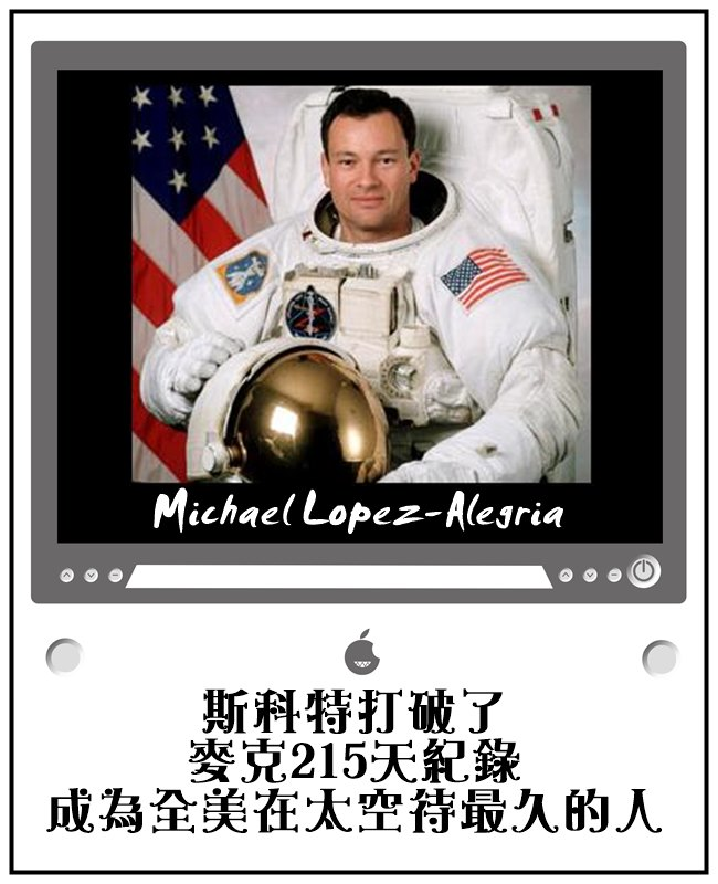 麥克在2012年三月退休囉!