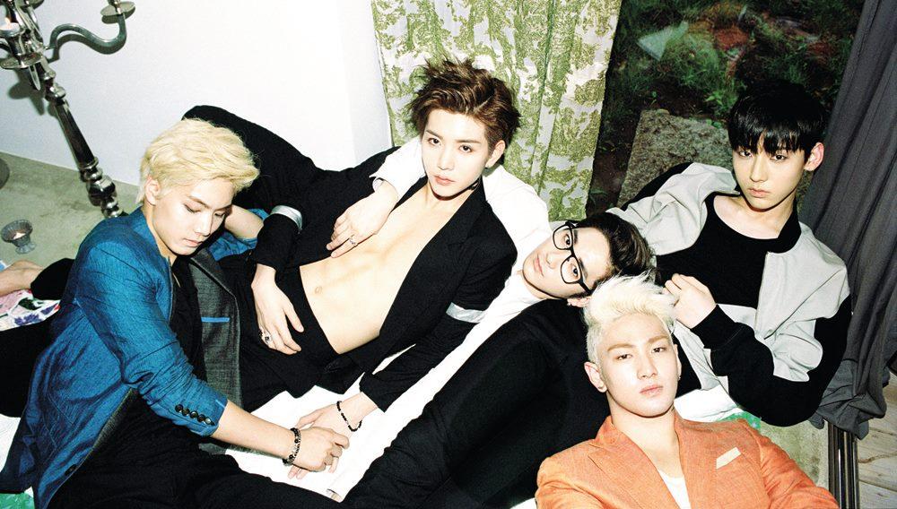 ✿ NU'EST 經紀公司:Pledis Entertainment 出道日期:2012年3月15日 成員:ARON、JR、白虎、旼泫、REN
