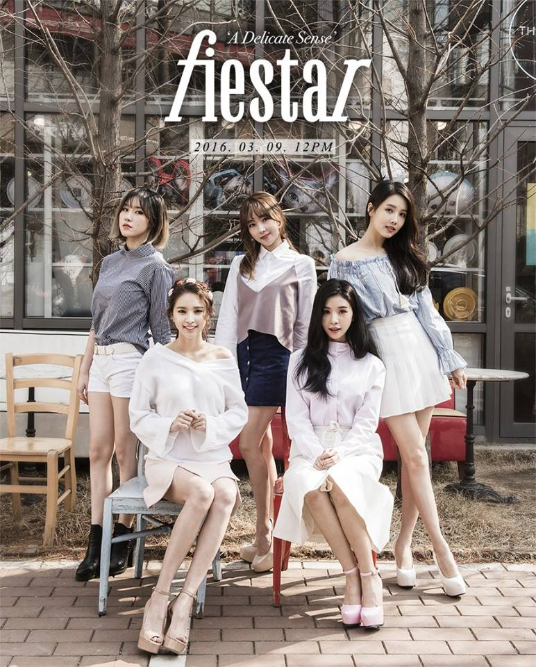 ✿FIESTAR 經紀公司:LOEN Entertainment 出道日期:2012年8月31日 成員:Jei、 CaoLu、 Hyemi、 Linzy、 Yezi