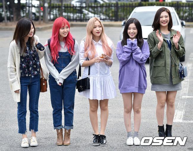 而且Joy很高~身材其實真的很好啦! Red Velvet每個成員都超美的♥